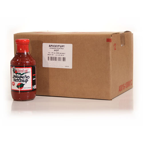 Jalapeno Ketchup Case - Hot