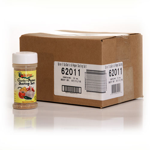 Garlic & Peppers Dusting Salt 2.5oz Case