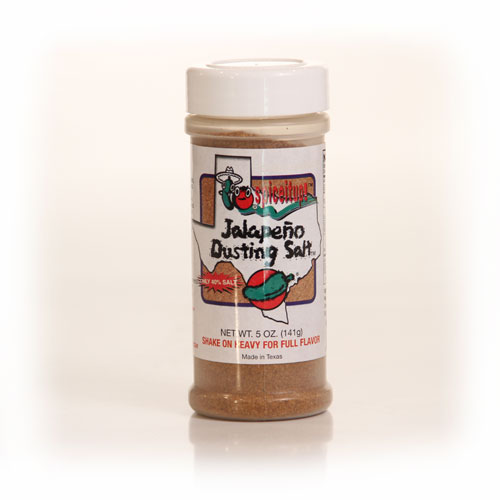 Jalapeno Dusting Salt 5oz 6pk